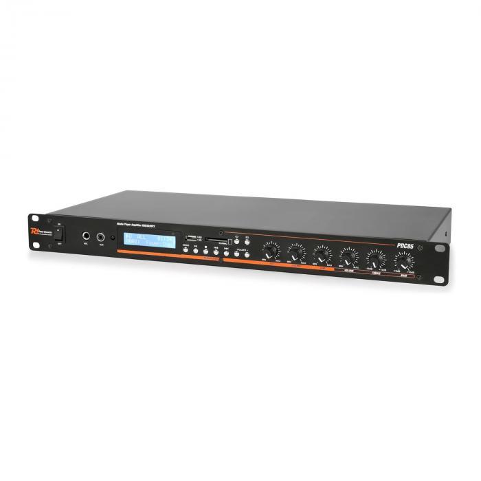"""PDC85 19"""" mediasoitin vahvistimella bluetooth FM/USB/SD/MMC"""
