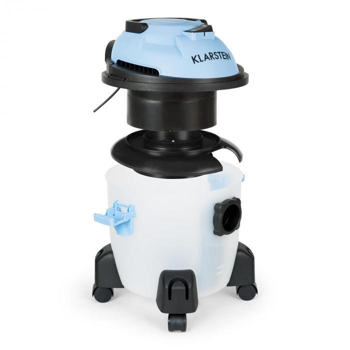 Reinraum Hydro Aspirapolvere Filtro ad Acqua 2500 AirWatt Senza Sacchetto blu