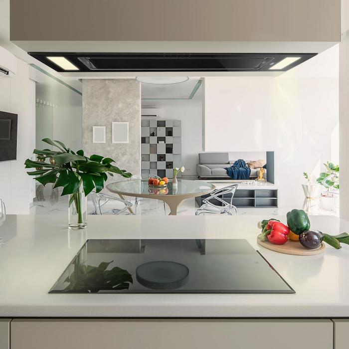 Gusteau Remy Built-In Set Oven + Built-In Hood Black Stainless Steel