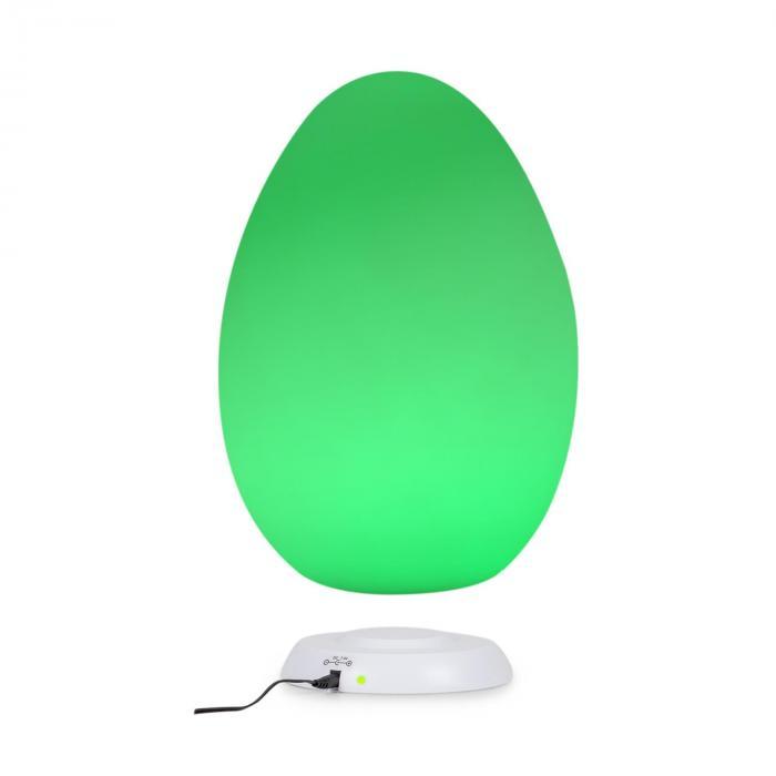 Eggy lampa LED indukcyjna stacja ładowania polietylen pilot IP65