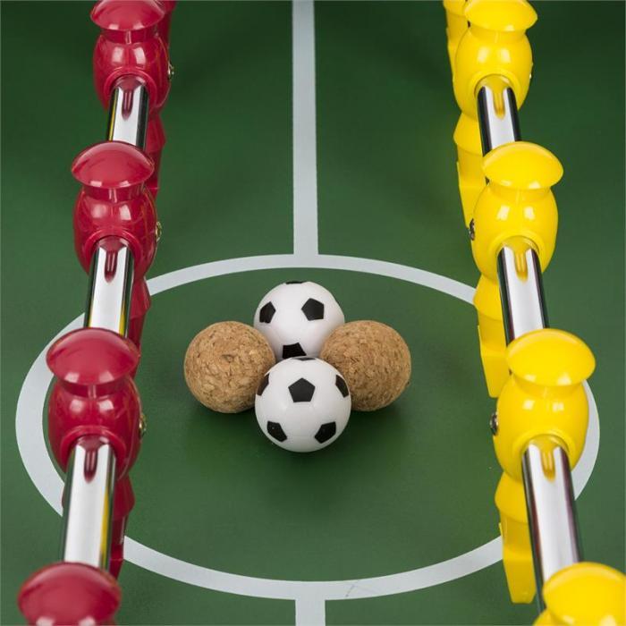 San Siro Stół do gry w piłkarzyki składany wymiary turniejowe czarny