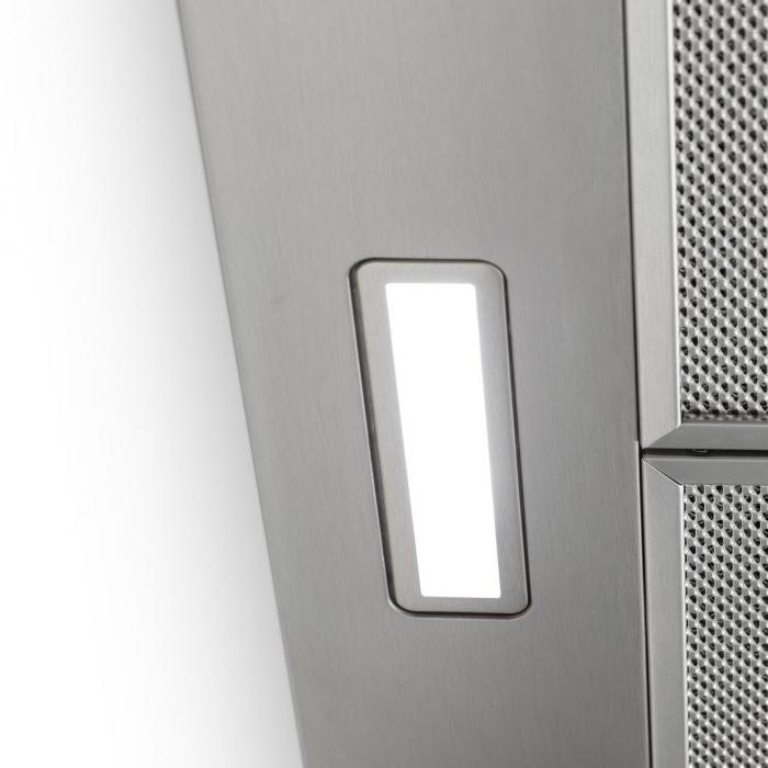 Galina Cappa Aspirante Set di Ricircolo 60 cm 350 m³/h LED Acciaio Inox