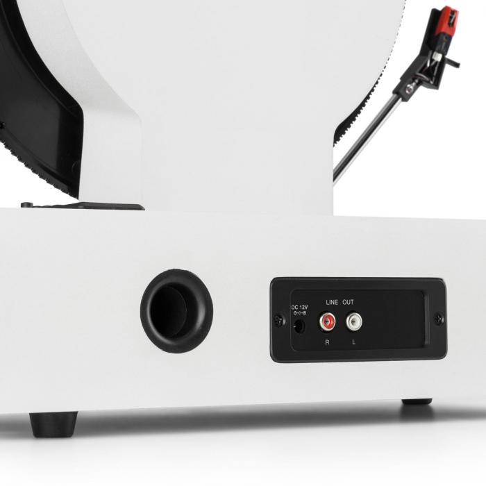 Verticalo S retro designlevysoitin vertikaalinen levysoitin USB valkoinen