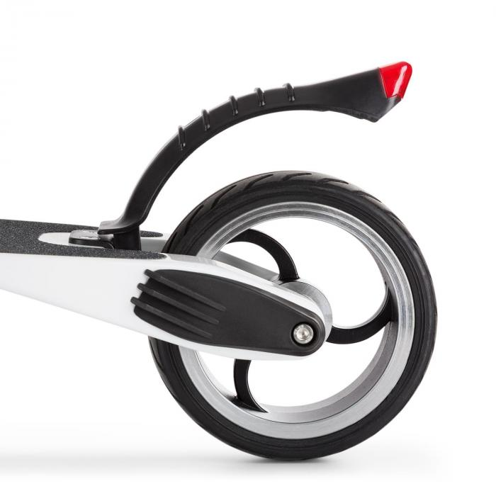 Sc8ter Carbon Elektro-Scooter Easy-Fold-Funktion 250W bis 22 km/h weiß