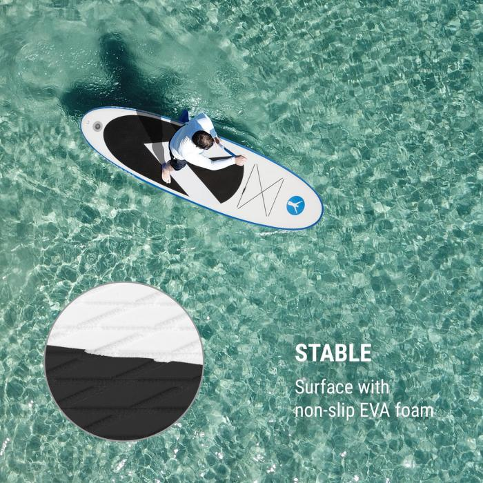 Spreestar 320 Inflatable Paddle Board SUP Board Set 320x12x81 Blue-White