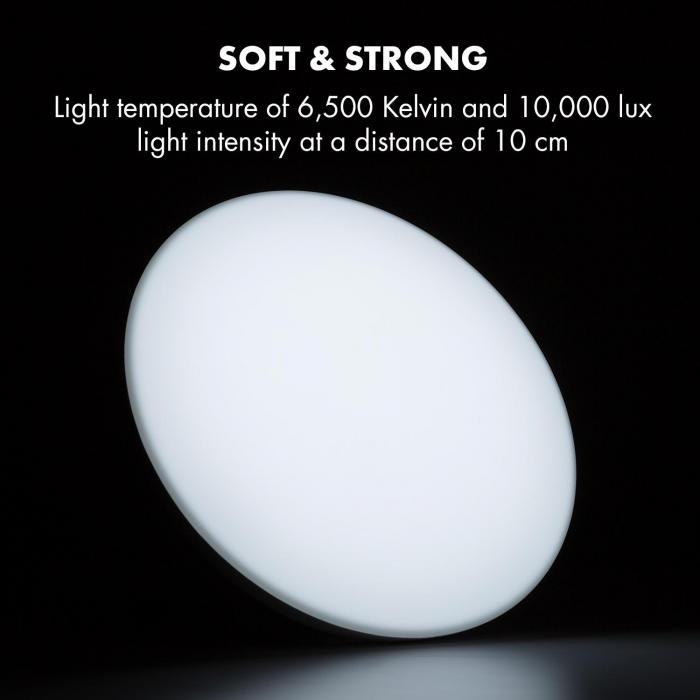 Wintersun Daylight Lamp, 10,000 lux, Light .: 6,500 K, UV-Free