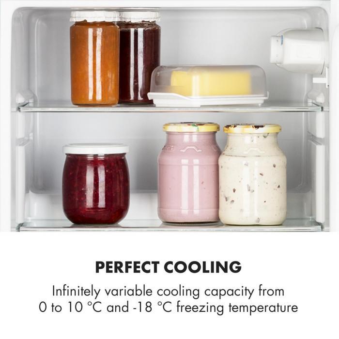 Irene Frigorífico Combinado Frigorifico com 61L Congelador com 24 L Azul