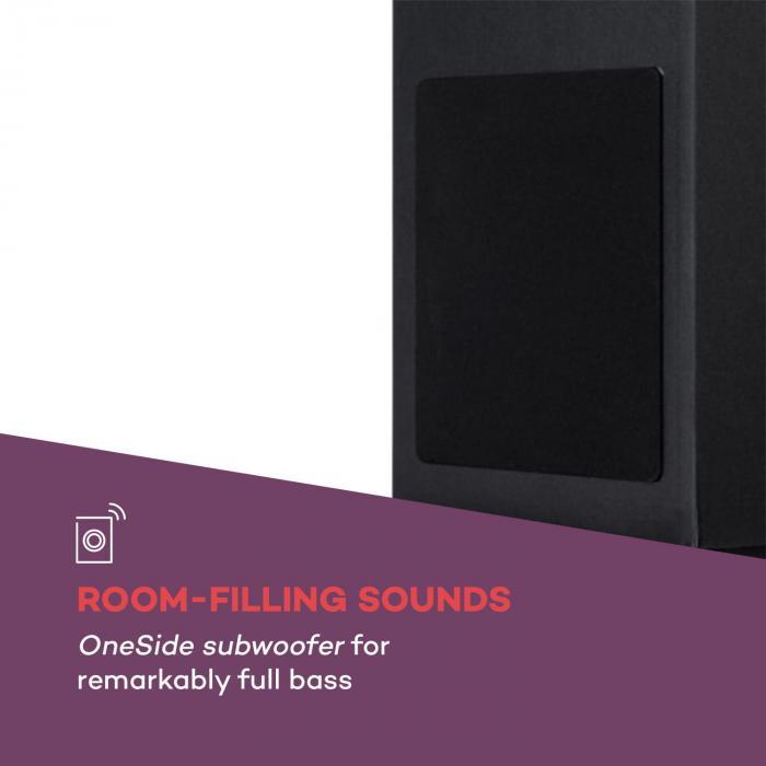 Karaboom 100 Sing Karaoketurm 120W max. CD-Player 2 Mikrofone wireless