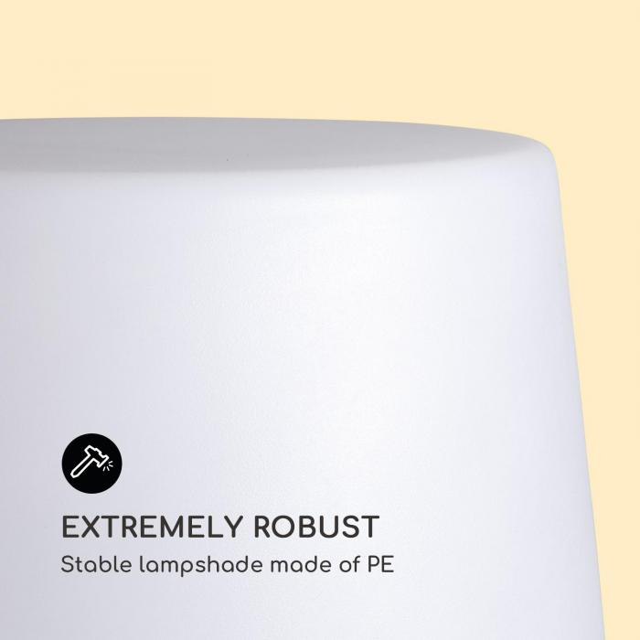 Moody STX Lampe IP65 PE-Lampenschirm E27 max.25W