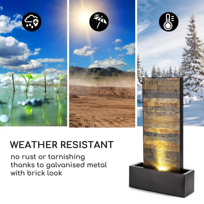 Raincastle Fontana 12 LED Pompa da 8W IPX8 Loopflow Concept