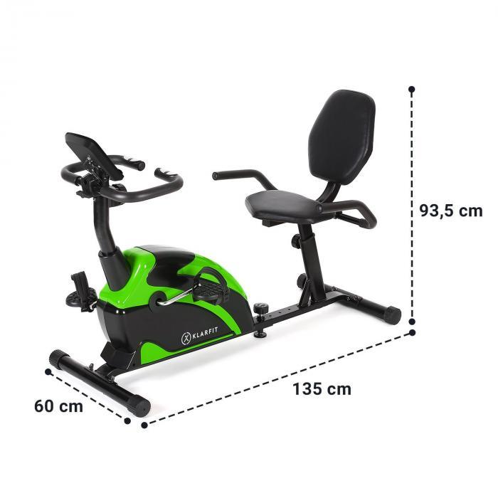Relaxbike 6.0 SE rekumbentti kuntopyörä 12 kg vauhtipyörä magneettivastus 100 kg