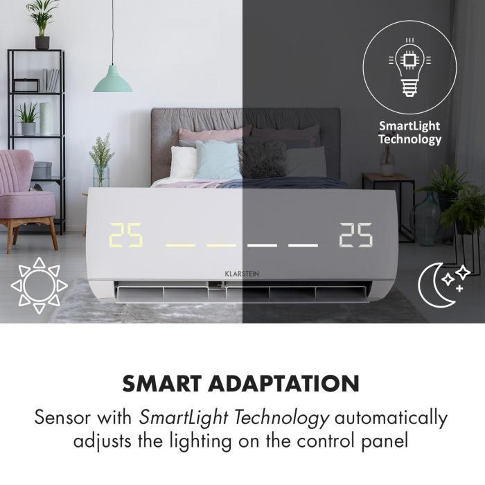Windwaker Smart condizionatore a split 600m³/h 1090/970W 12000 BTU
