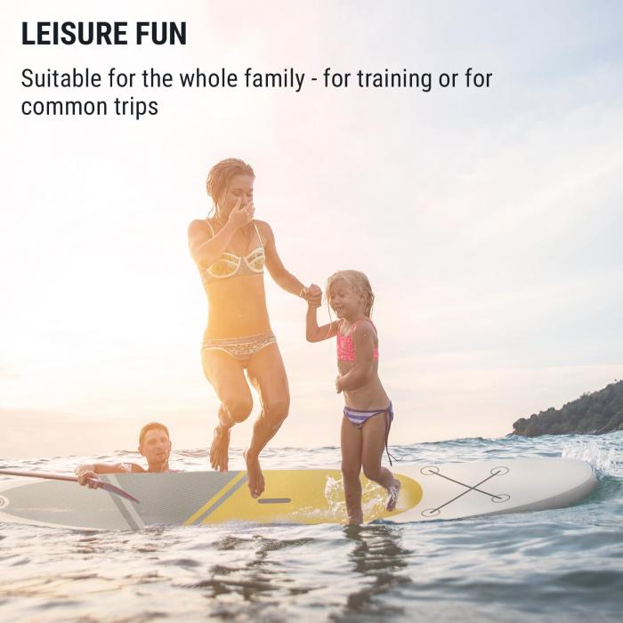 Kauai Flow aufblasbares Paddelboard SUP-Board-Set DoubleLayer 305x10x77