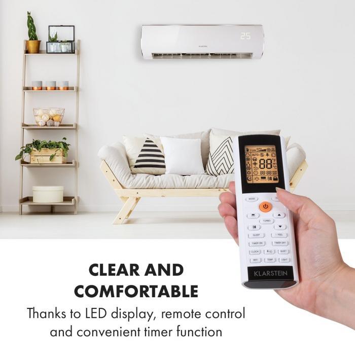 Windwaker Eco Split Air Conditioner 1,250 m³ / h 24,000 BTU / h (7032W) A ++