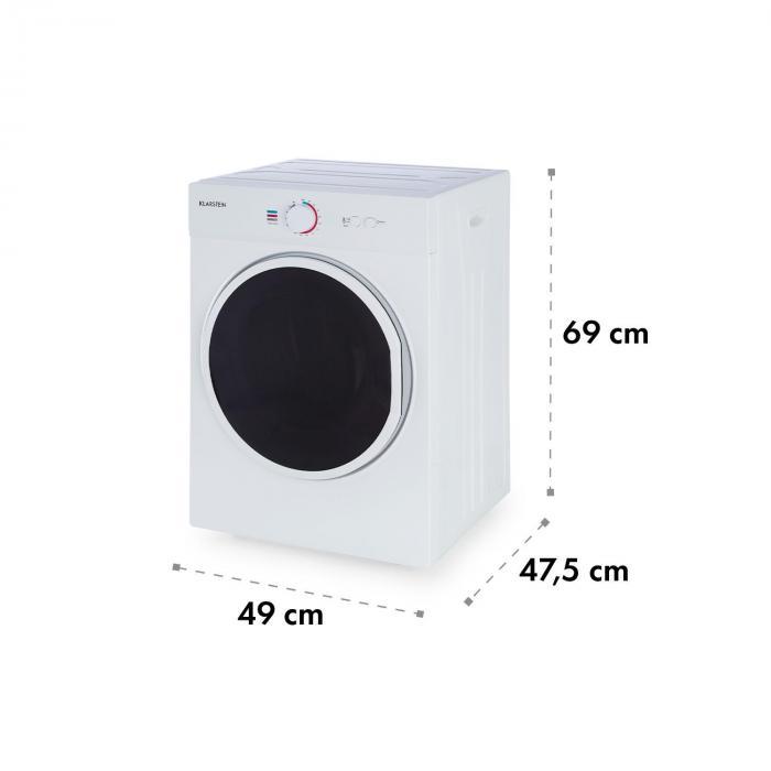 Jet Set kuivausrumpu kondensoiva 1020 W energiatehokkuusluokka C 3 kg 50 cm valkoinen