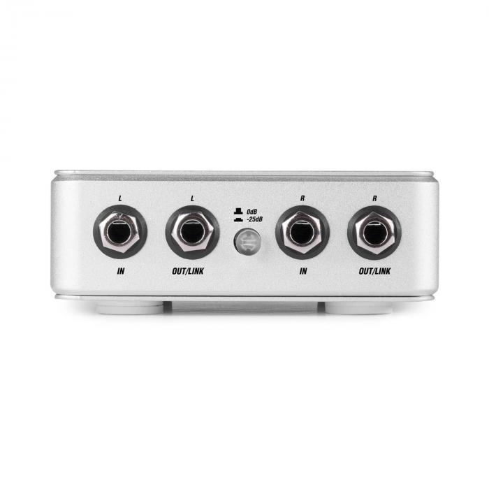 PDX30 stereo DI-boksi symmetrinen XLR-ulostulo alumiini