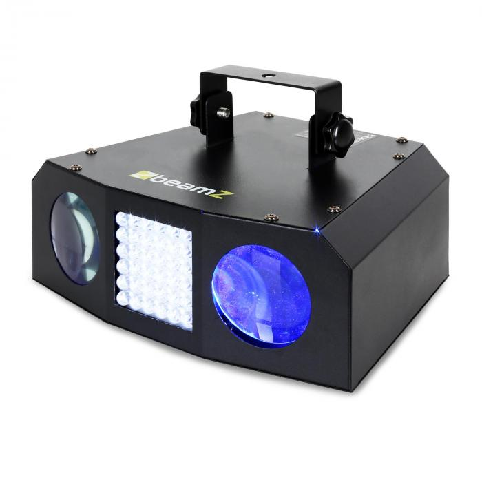 LED-valoefekti Beamz Uranus tupla Moonflower strobovalo