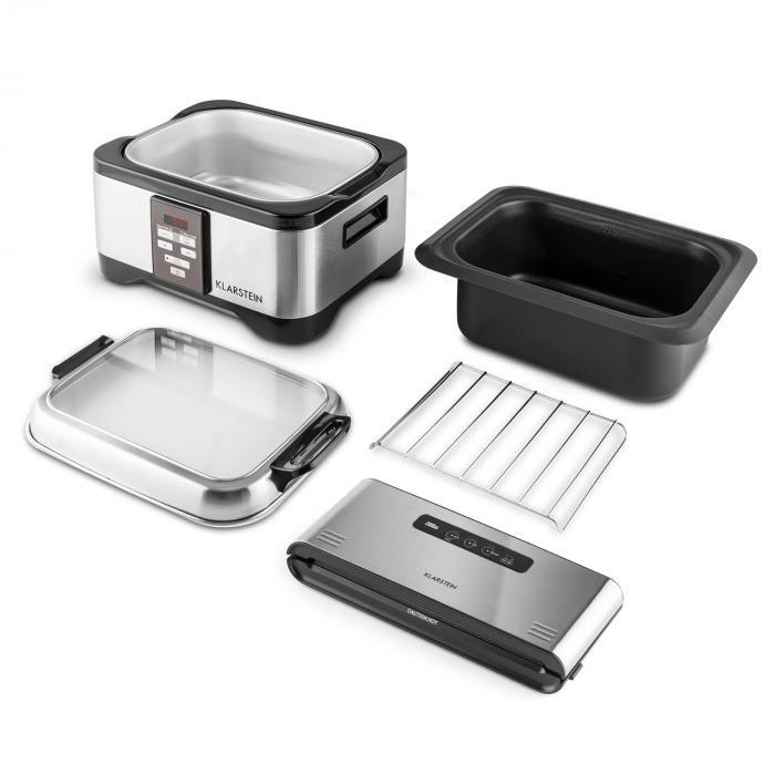 tastemaker foodlocker sous vide set schongarer slow cooker 6l 550 w online kaufen elektronik. Black Bedroom Furniture Sets. Home Design Ideas