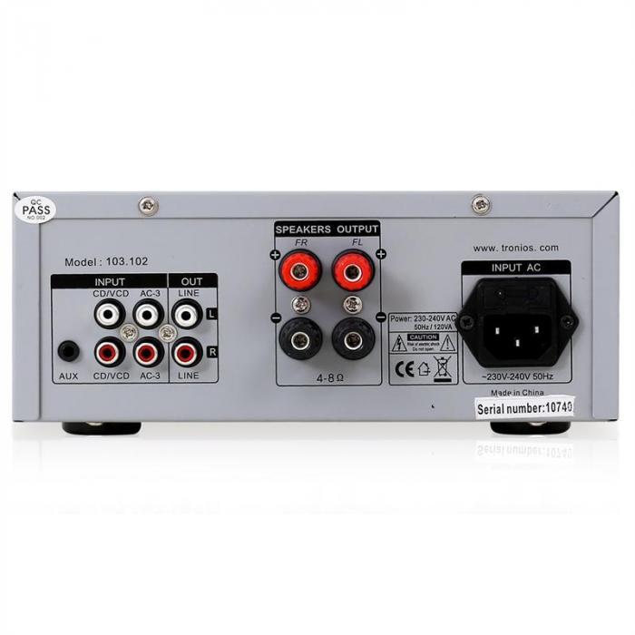 "PA Anlage ""EASY"" DJ Set Verstärker Boxen Mikrofon 400W"
