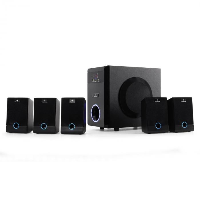 MM-5.1-J Sistema Casse Attive Home Theater 5.1 95W