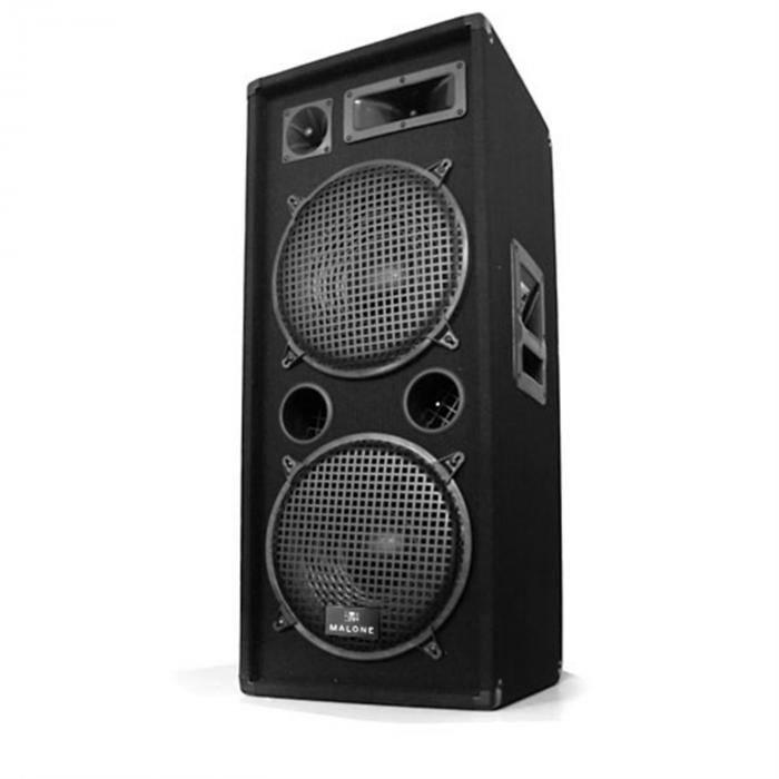 "Set DJ ""DJ-27"" Amplificatore Casse 2000W USB SD MP3"