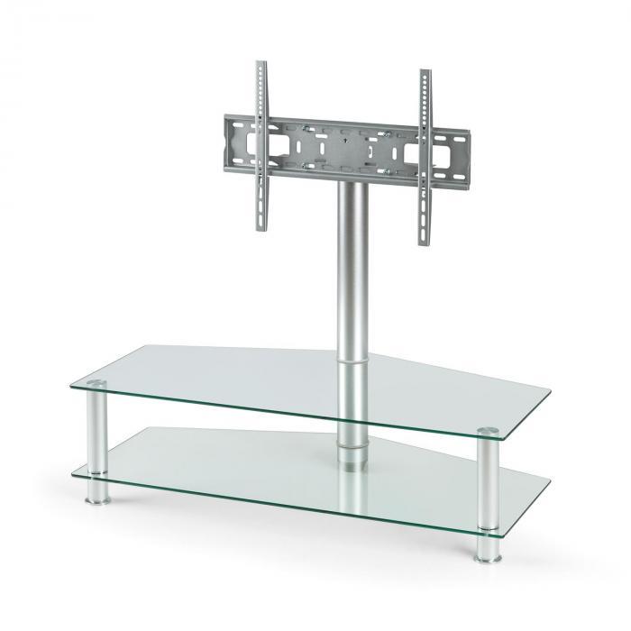 FAVS19 TV Halterung Ständer Glas Aluminium
