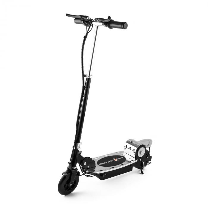 v8 elektroscooter roller 120w 16 km h akku 2 bremsen. Black Bedroom Furniture Sets. Home Design Ideas