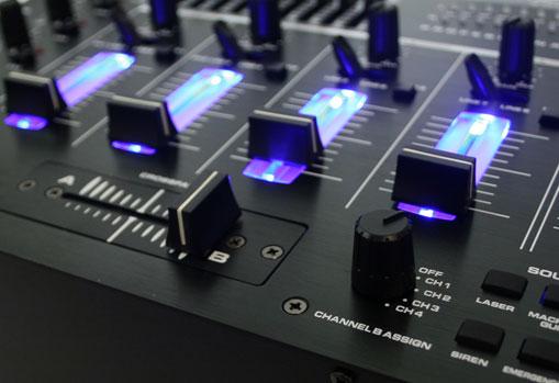 Complete DJ PA Set 'Pluto Gravity' - Amp, speakers mixer - 200 People