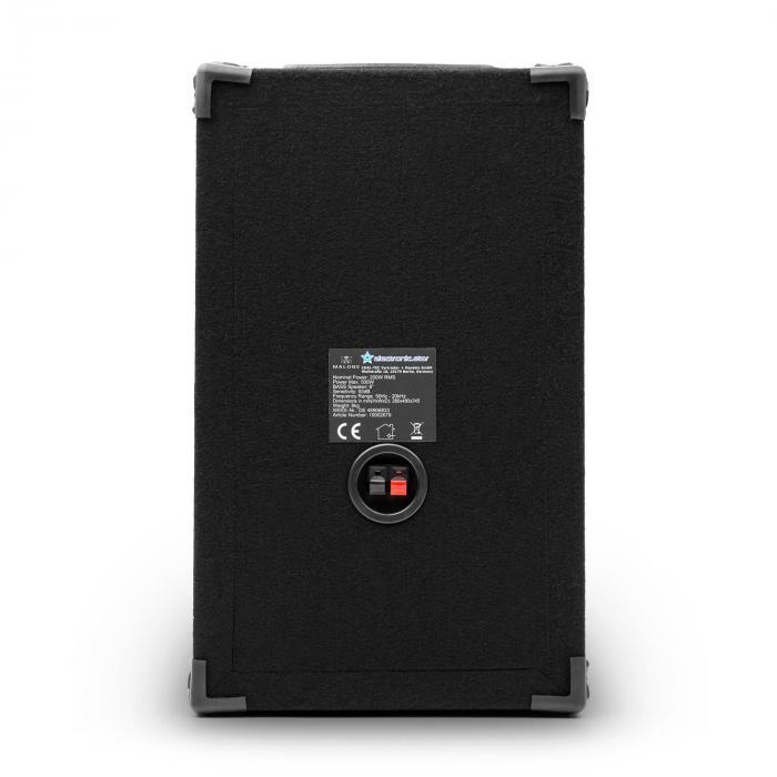 "Set DJ-PA ""DJ-10"" 1000W amplificatore casse microfono"