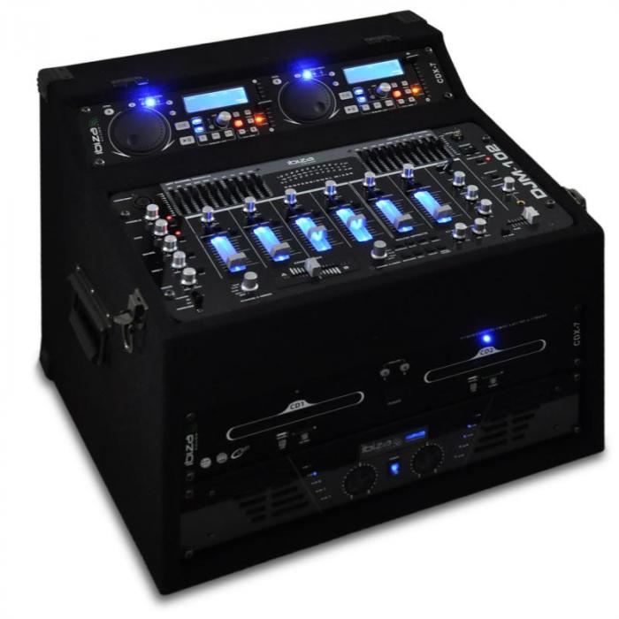 "Set DJ PA ""Sol Lightning"" rack 1200W"