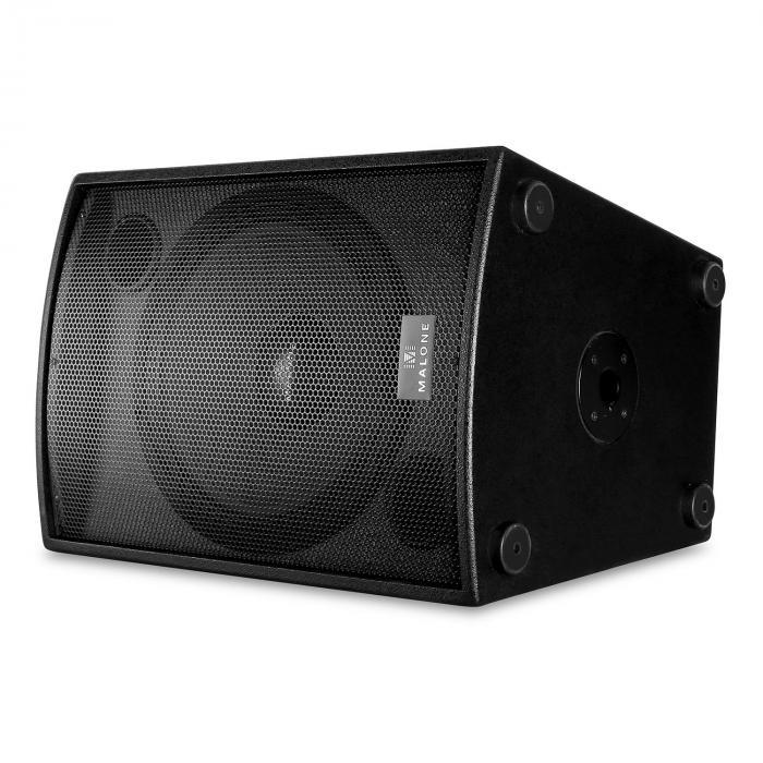 "DJ PA Set Malone 2.0 SUB ""Disco"" mit Paar 38cm Subwoofer & Verstärker 2000W"