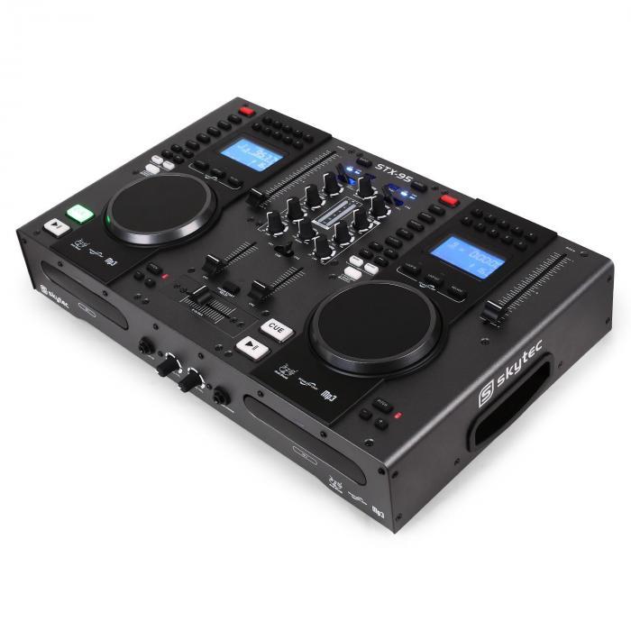 DJ Controller Skytec STX-95 Doppio CD player USB MP3