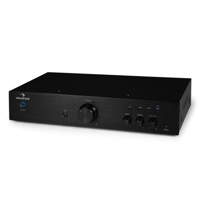 Sistema Hi Fi Amplificatore 600W lettore CD MP3 2x diffusori