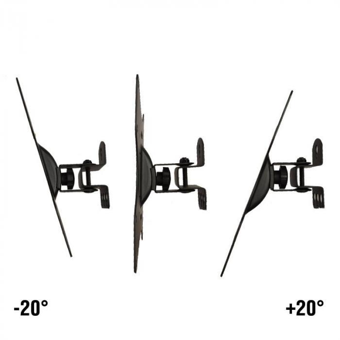 LCD501A Schwenkarm-Wandhalterung <30kg <94cm