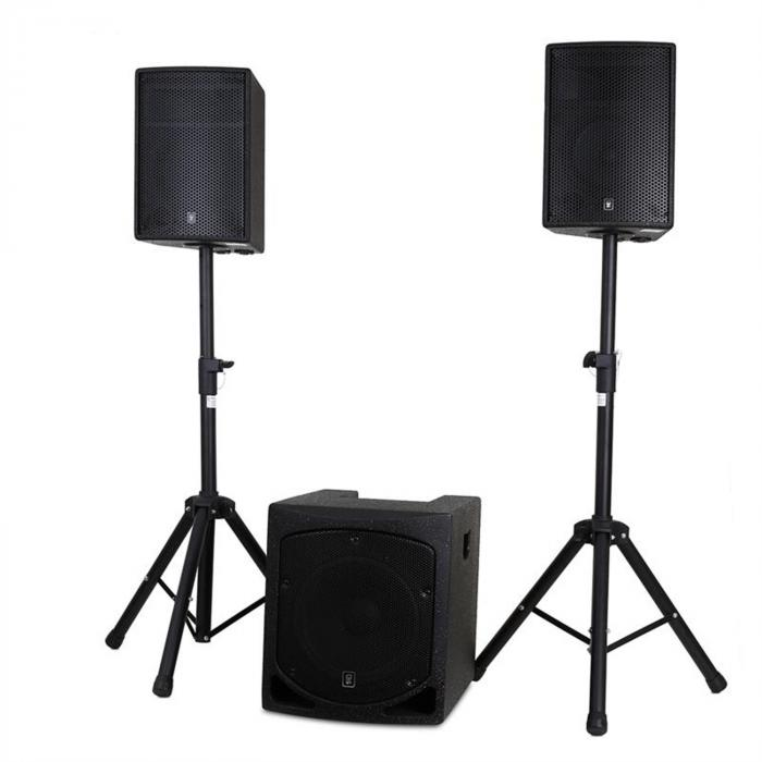 "QL1510MA Active 2.1 PA Set 15"" Subwoofer 2 x 10"" Speakers"