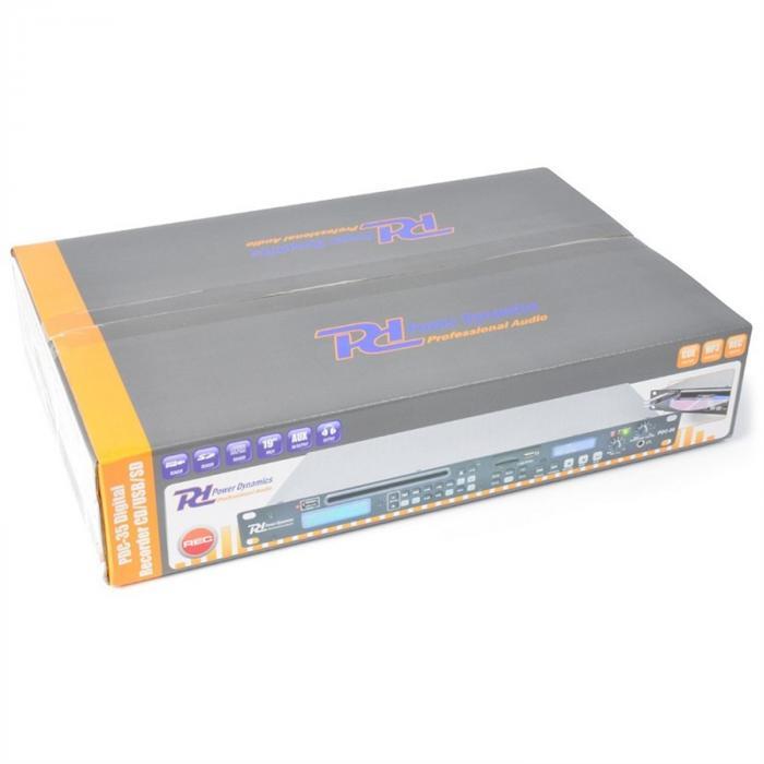 PDC-35 mediasoitin-nauhuri-yhdistelmä