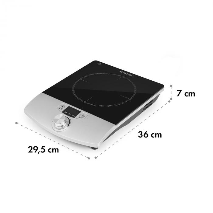 VariCook Single Induction Hob Hotplate 1800W