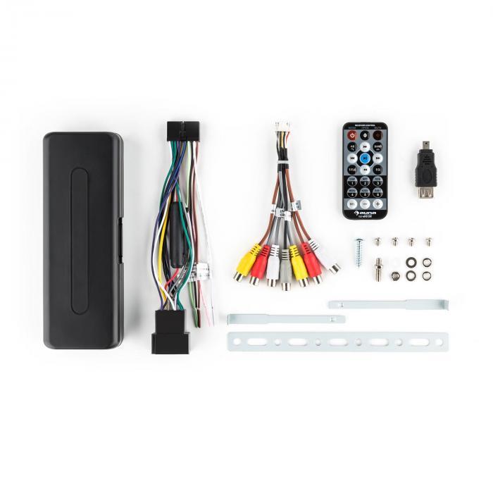 MVD-260 -autoradio DVD USB SD AUX MP3 A/V Bluetooth