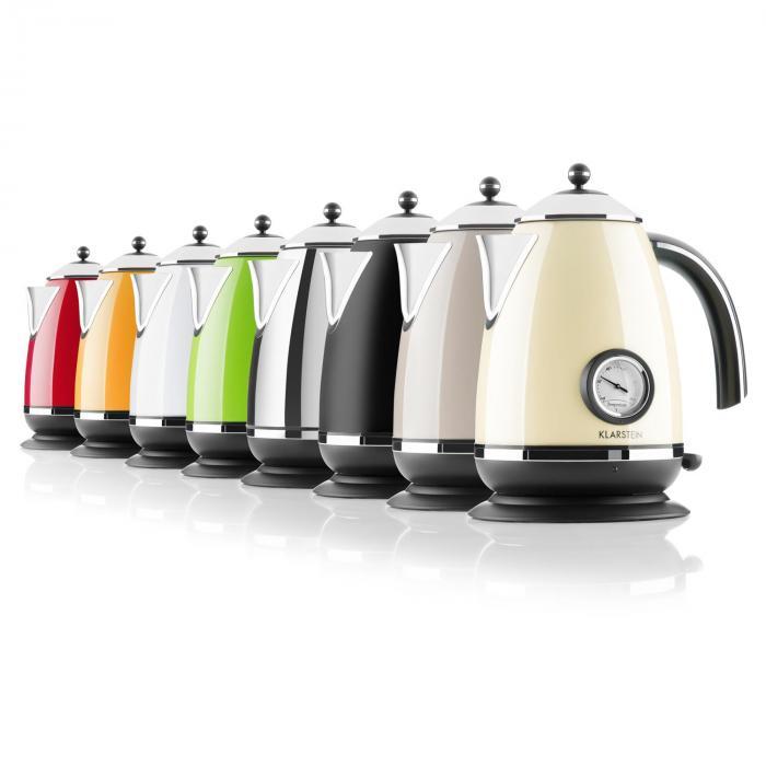 Aquavita Chalet Wasserkocher creme 1,7 Liter 2200W