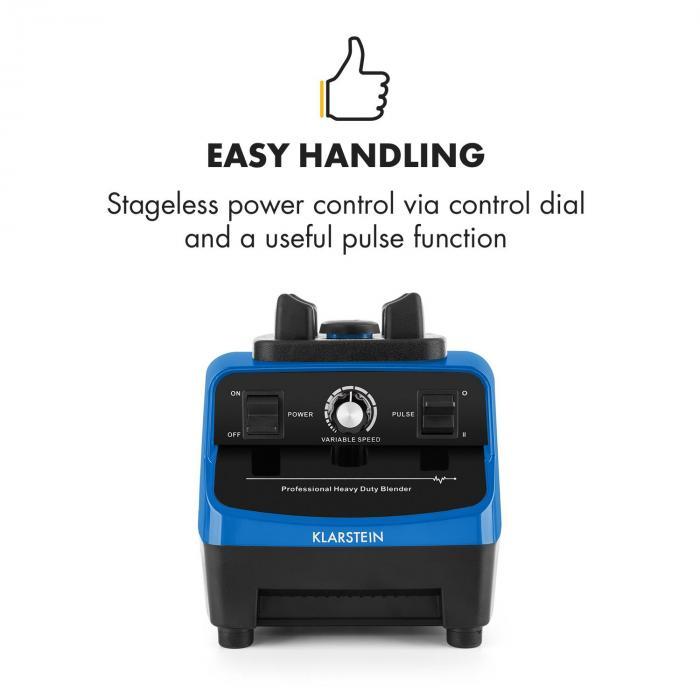 Herakles 3G frullatore per smoothies frullatore da tavolo 1500 W blu
