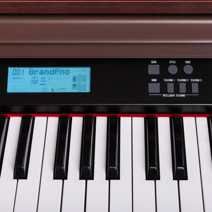 Subi88P2 88-Key Electric Piano MIDI Brown
