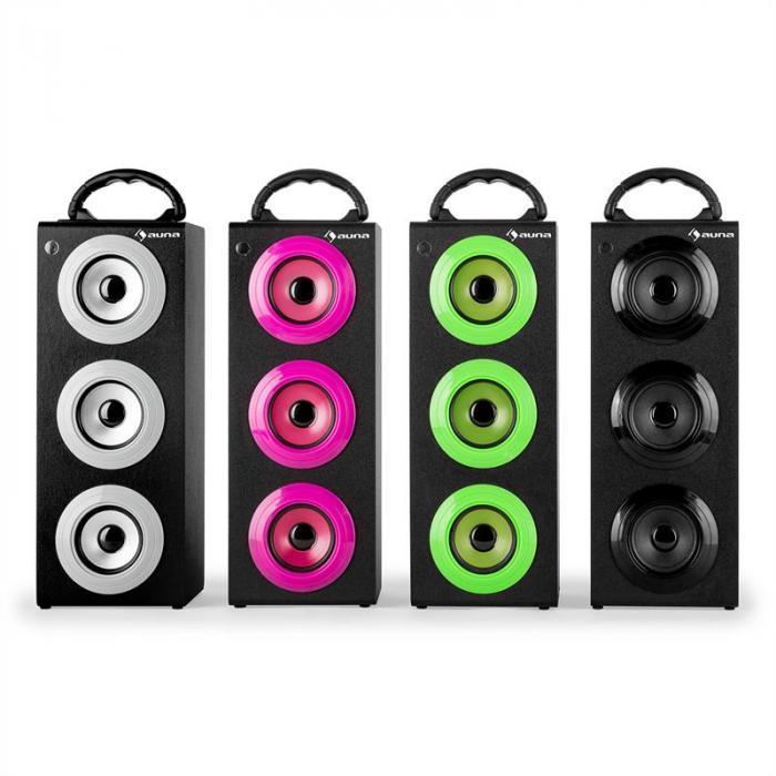 Beachgirl XXL Bluetooth Luidspreker roze USB SD AUX UKW