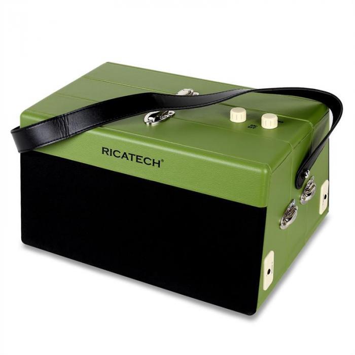 RT80 Giradischi vintage AUX verde