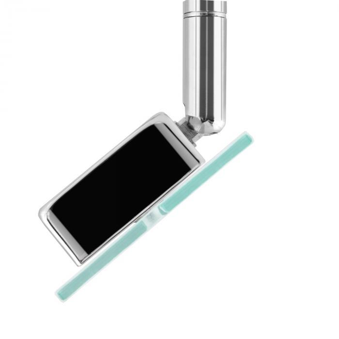Vegard 6 Spotlampe LED 6x5W 400lm drehbar schwenkbar Chrom Glas