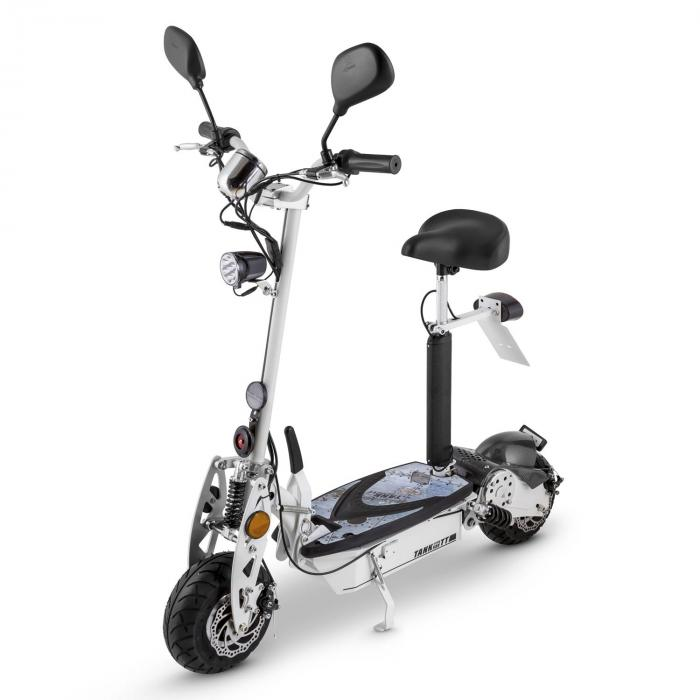 tank type 500tt elektro scooter 36v 500w 20 km h 25 km stvzo schwarz online kaufen. Black Bedroom Furniture Sets. Home Design Ideas