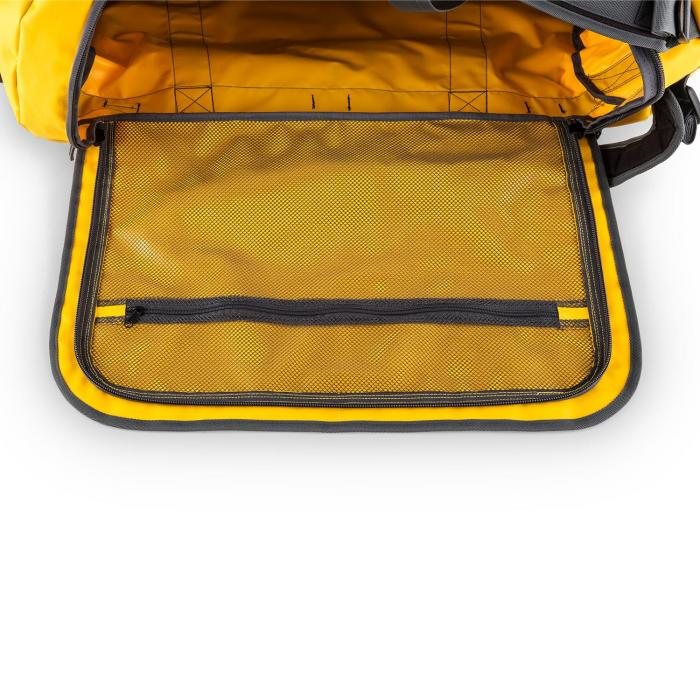 Large Travel Bag 90L Backpack Trolley Waterproof Yellow