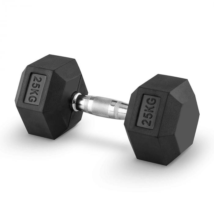 Hexbell Dumbbell Korte Halter Paar 25kg