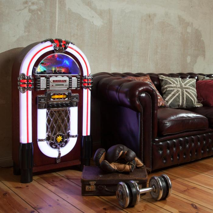 Graceland XXL BT Jukebox Bluetooth USB SD AUX CD UKW/MW
