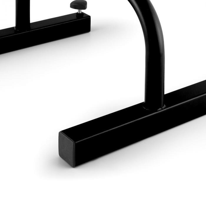 Paralo Parallettes Paar Stahl schwarz