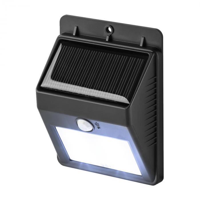 solarlux solar au enleuchte bewegungsmelder 4 led kaltwei. Black Bedroom Furniture Sets. Home Design Ideas
